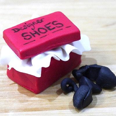 How to make a shoe box cake decoration