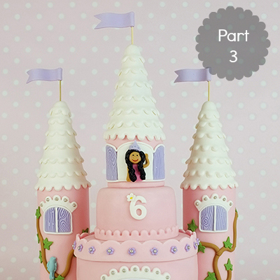 How to make a castle cake: Part 3