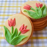 how to make tulip cookies