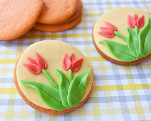 how to make tulip cookies 8
