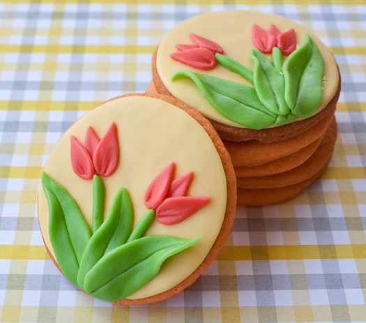how to make tulip cookies 91