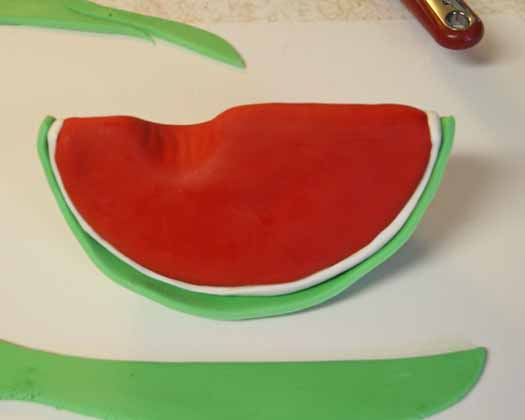 How to Make Watermelon Cake Topper 21