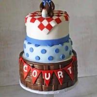 Teddy Bear Picnic Birthday Cake