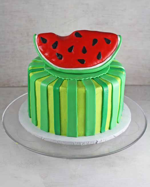Watermelon Cake Finished