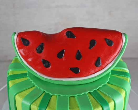 Watermelon Cake Topper