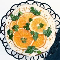 easy orange cake with many variations