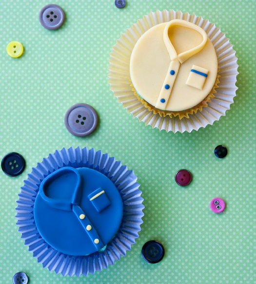 how to make shirt cupcakes 3