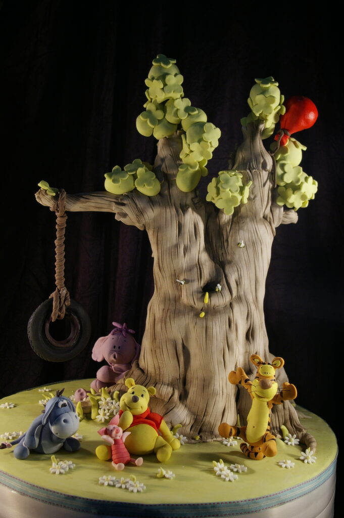 Luca S Winnie The Pooh Tree Cake By Dot Klerck