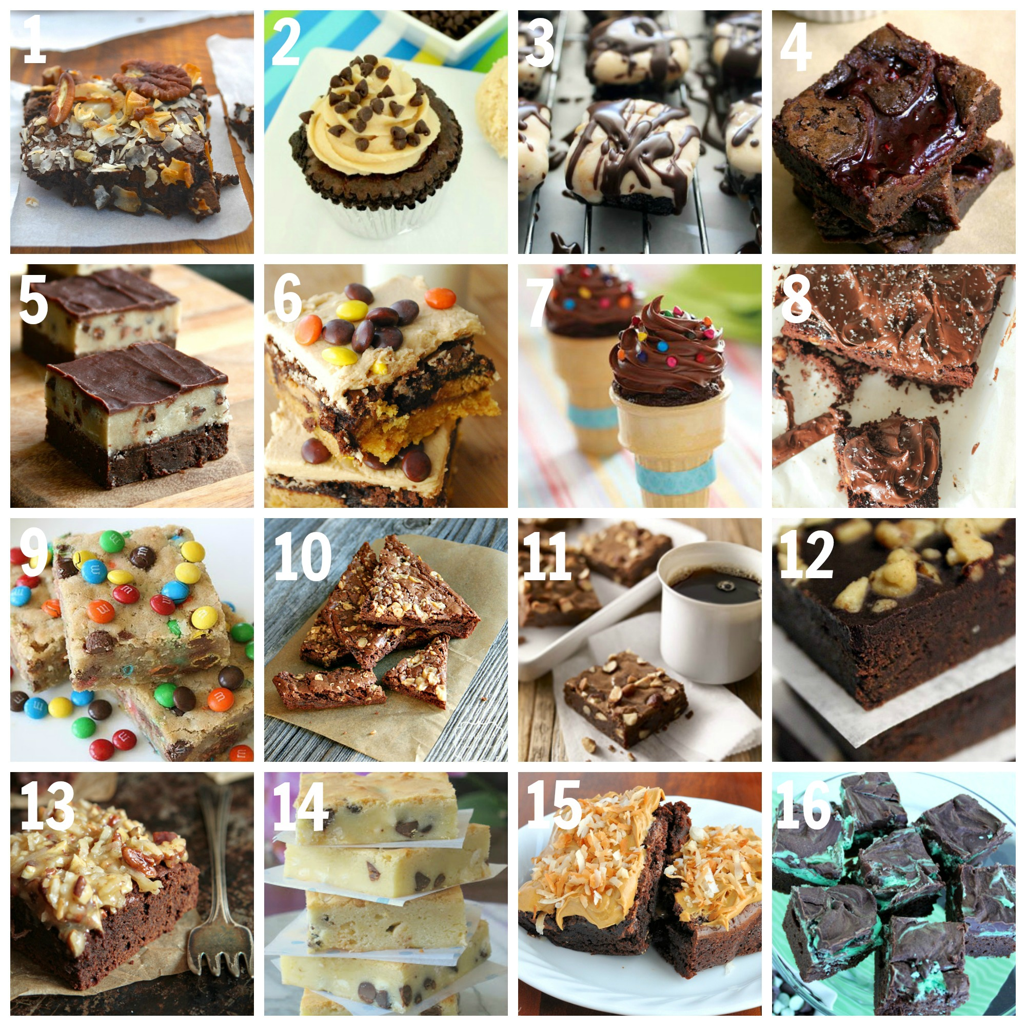Best Brownie Recipes from Around the Web