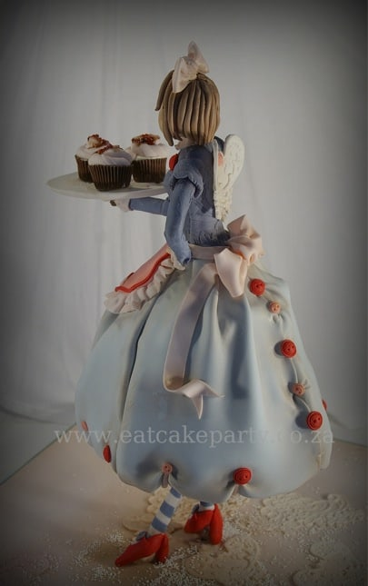 Cupcake fairy side