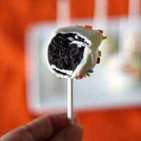 No Bake Cake Pop