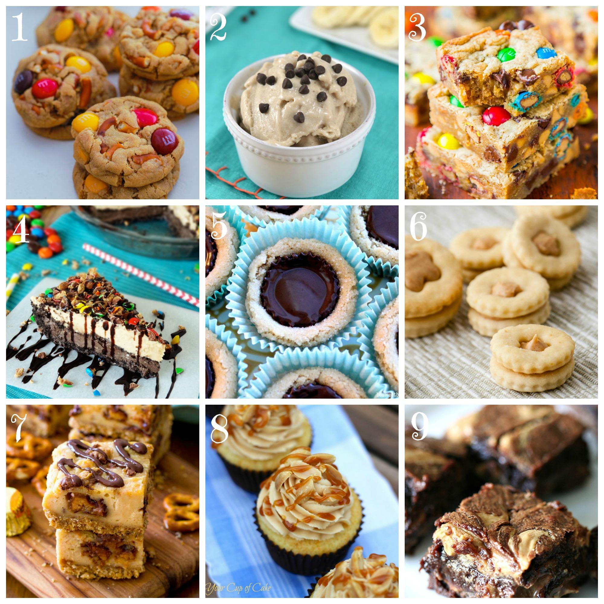 Peanut Butter Lover Desserts
