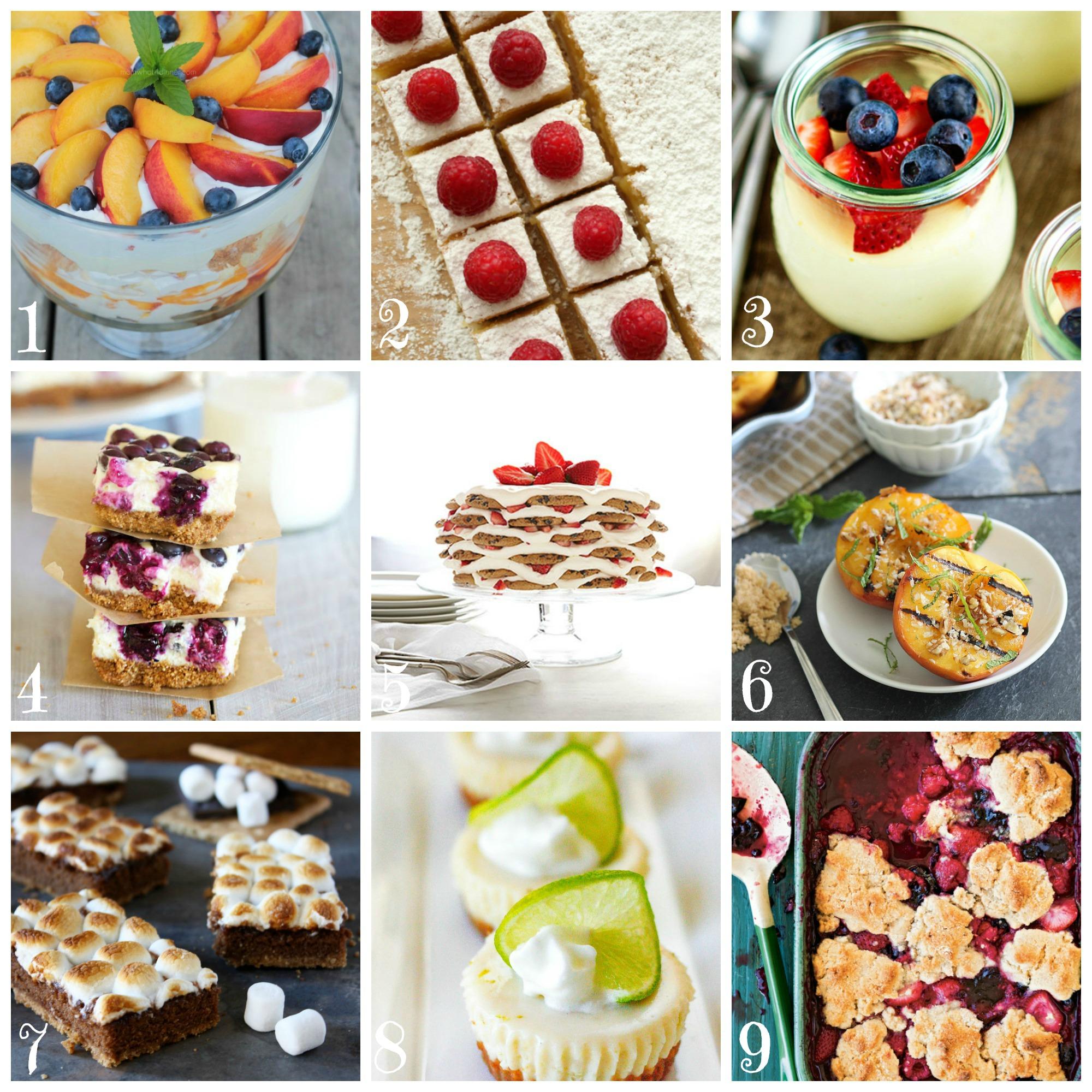Best Summer Dessert Recipes