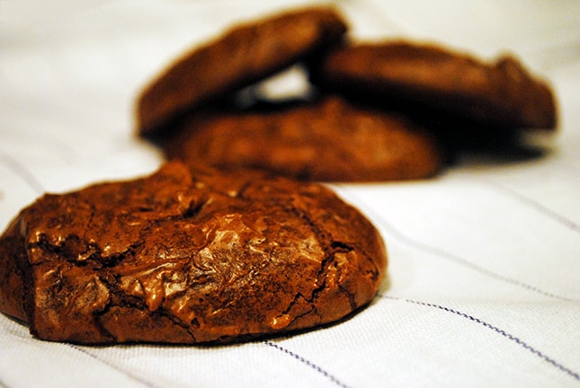 Double chocolate brownie cookie Recipe