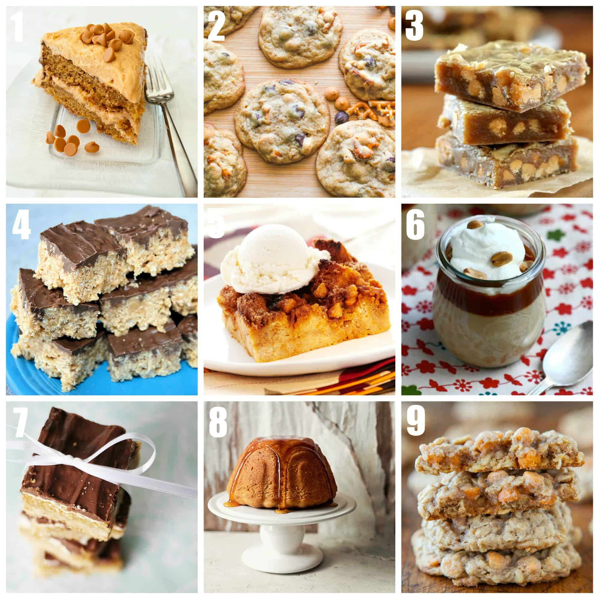 Butterscotch Recipes: sweet, chewy, and delicious desserts