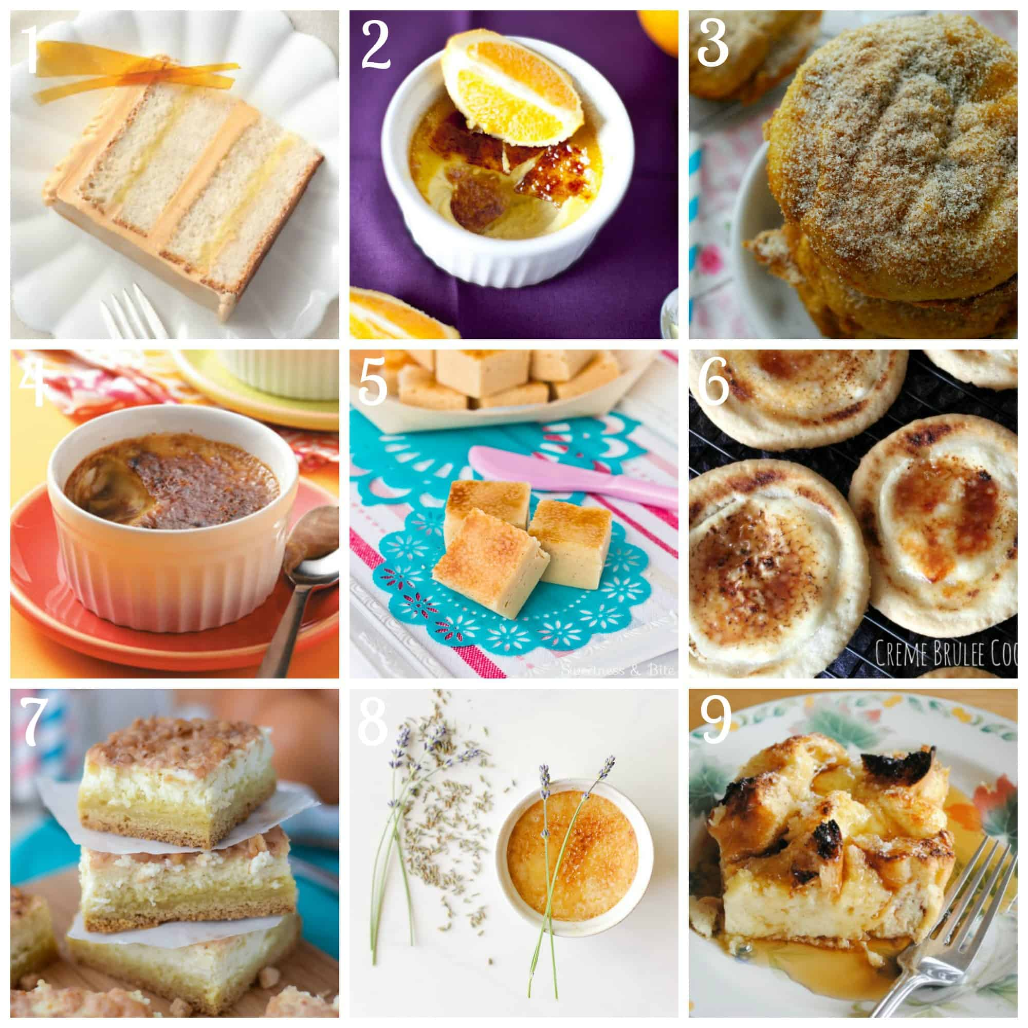 Best creme brûlée dishes