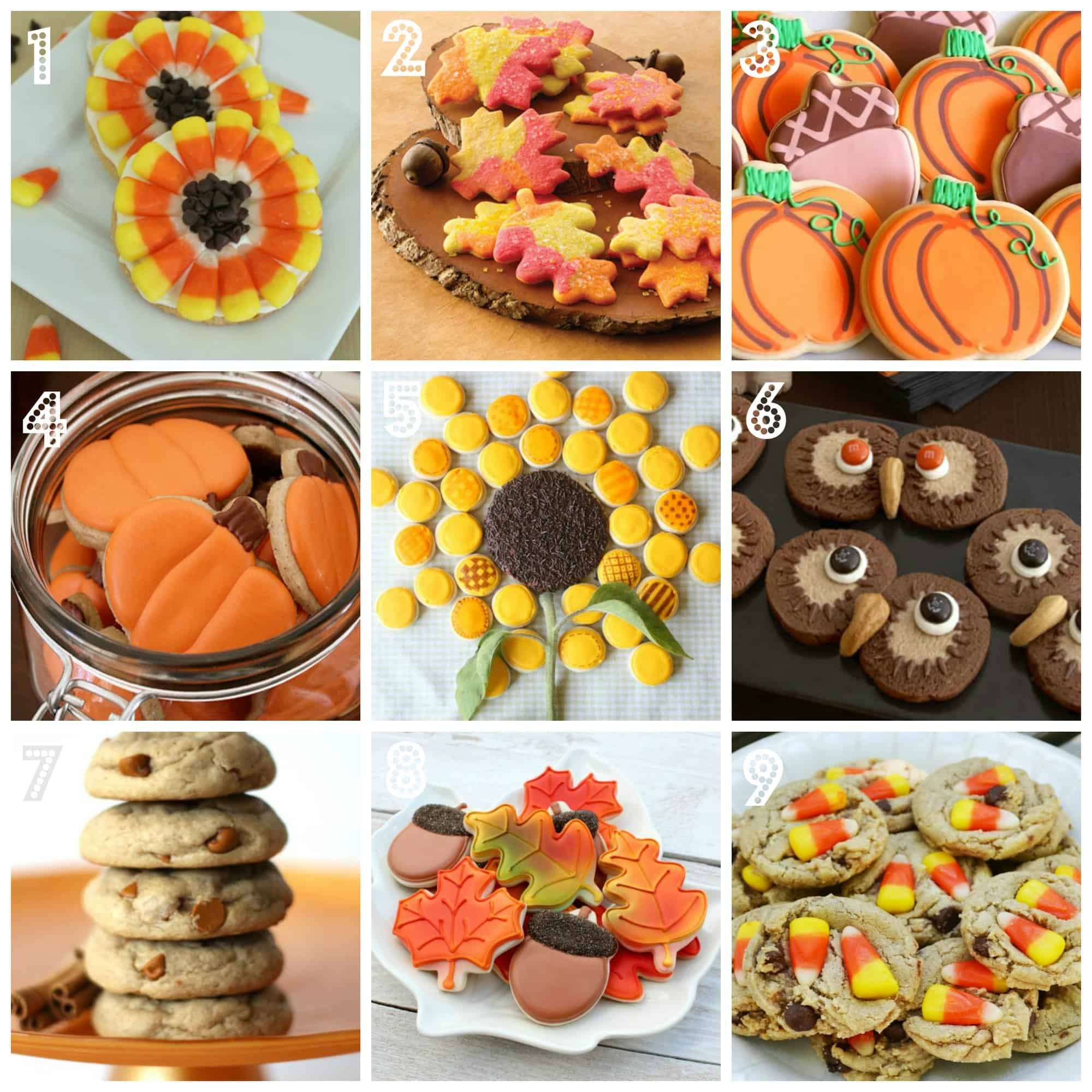 Fabulous Fall Cookie Recipe Ideas