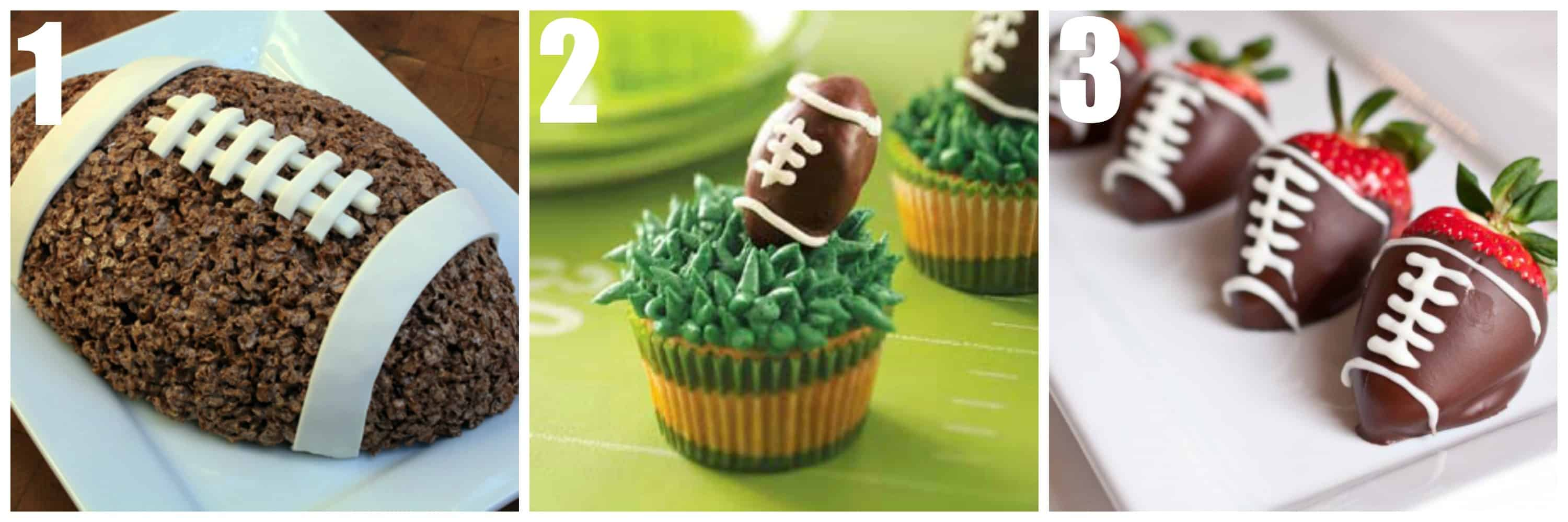 Football Shaped Treats