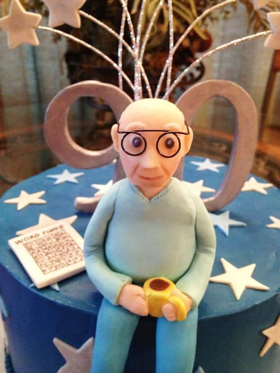 Grandpa birthday topper