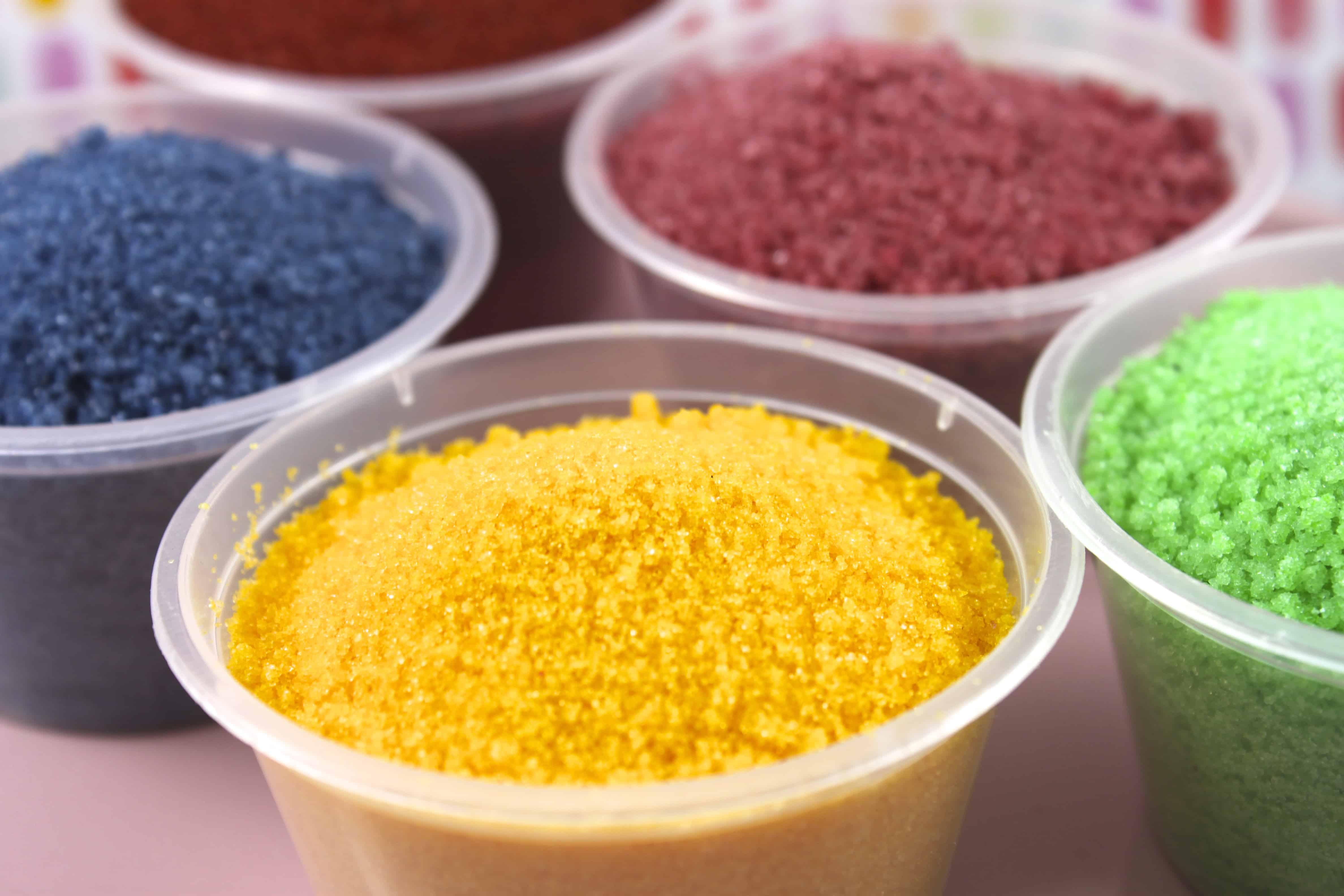 DIY Colored Sanding Sugar Sprinkles - Dollar Saver Ideas ...