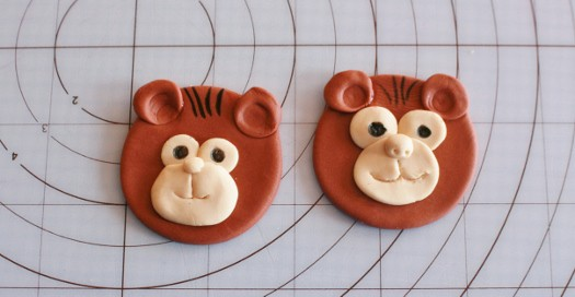 How to Make Monkey Cupcake Toppers
