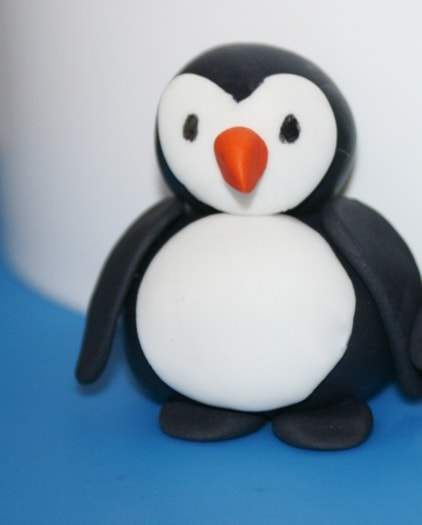 How To Make A Gum Paste Penguin Cakejournal Com