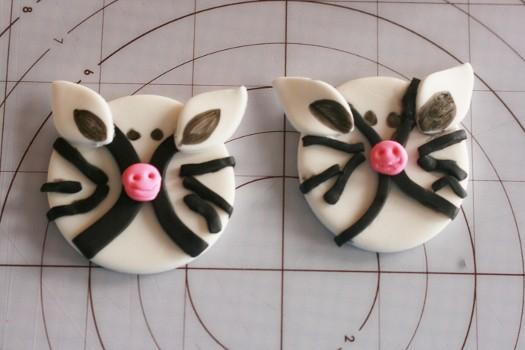 zebra cupcake toppers