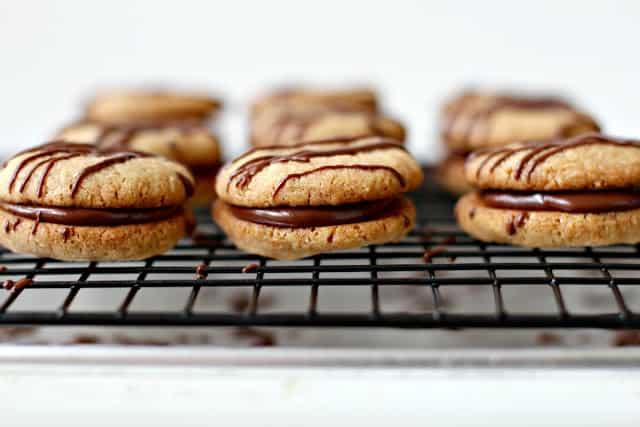 Milk Chocolate Sandwich Cookies