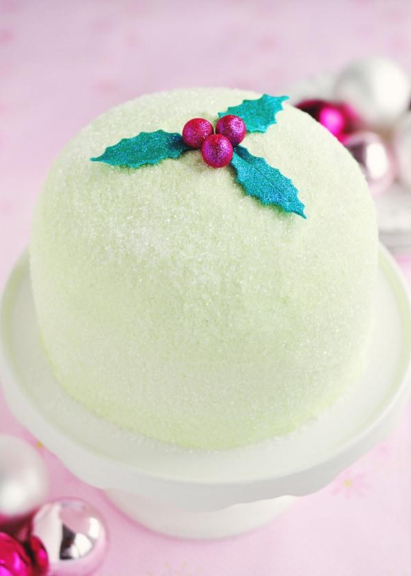 Winter Delight Peppermint Cake