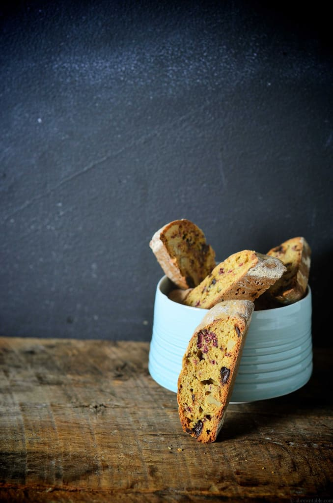 Chocolate-Raspberry Biscotti