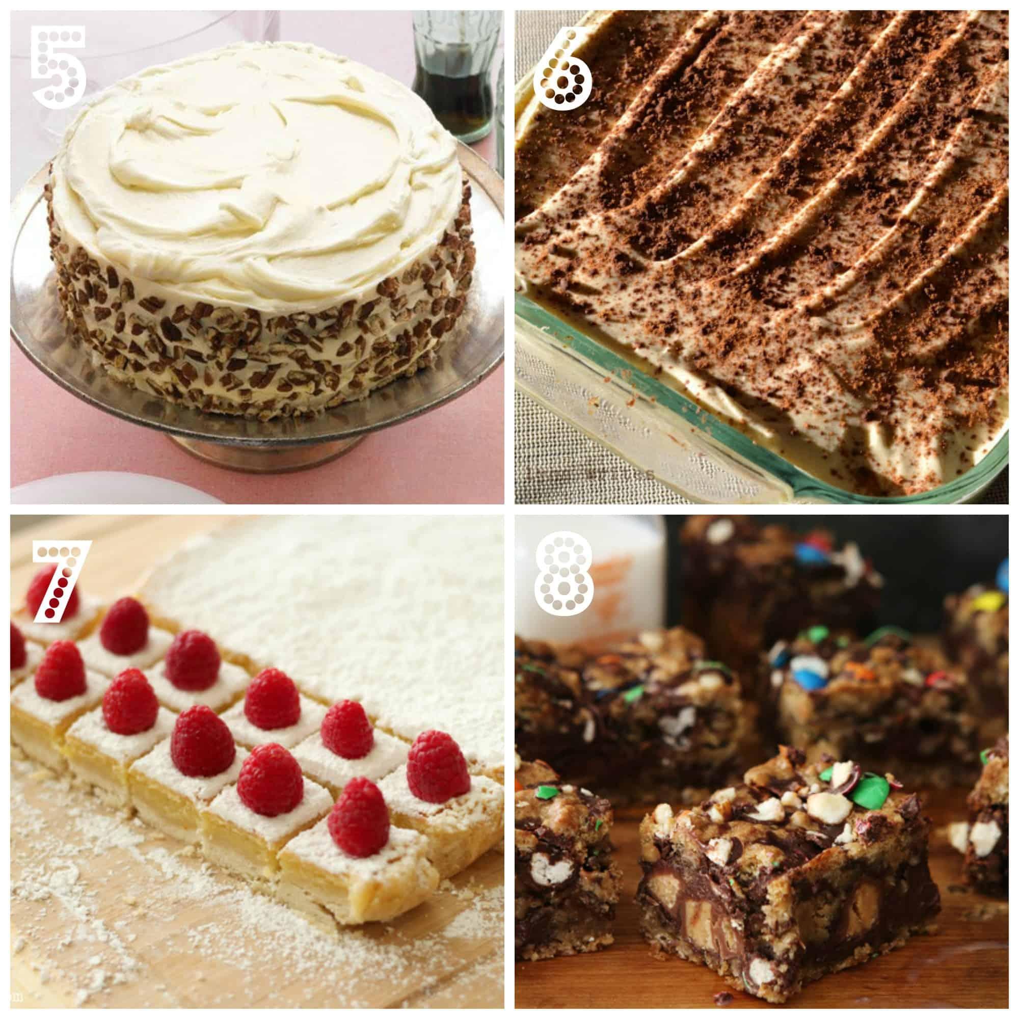 Comfort food Desserts