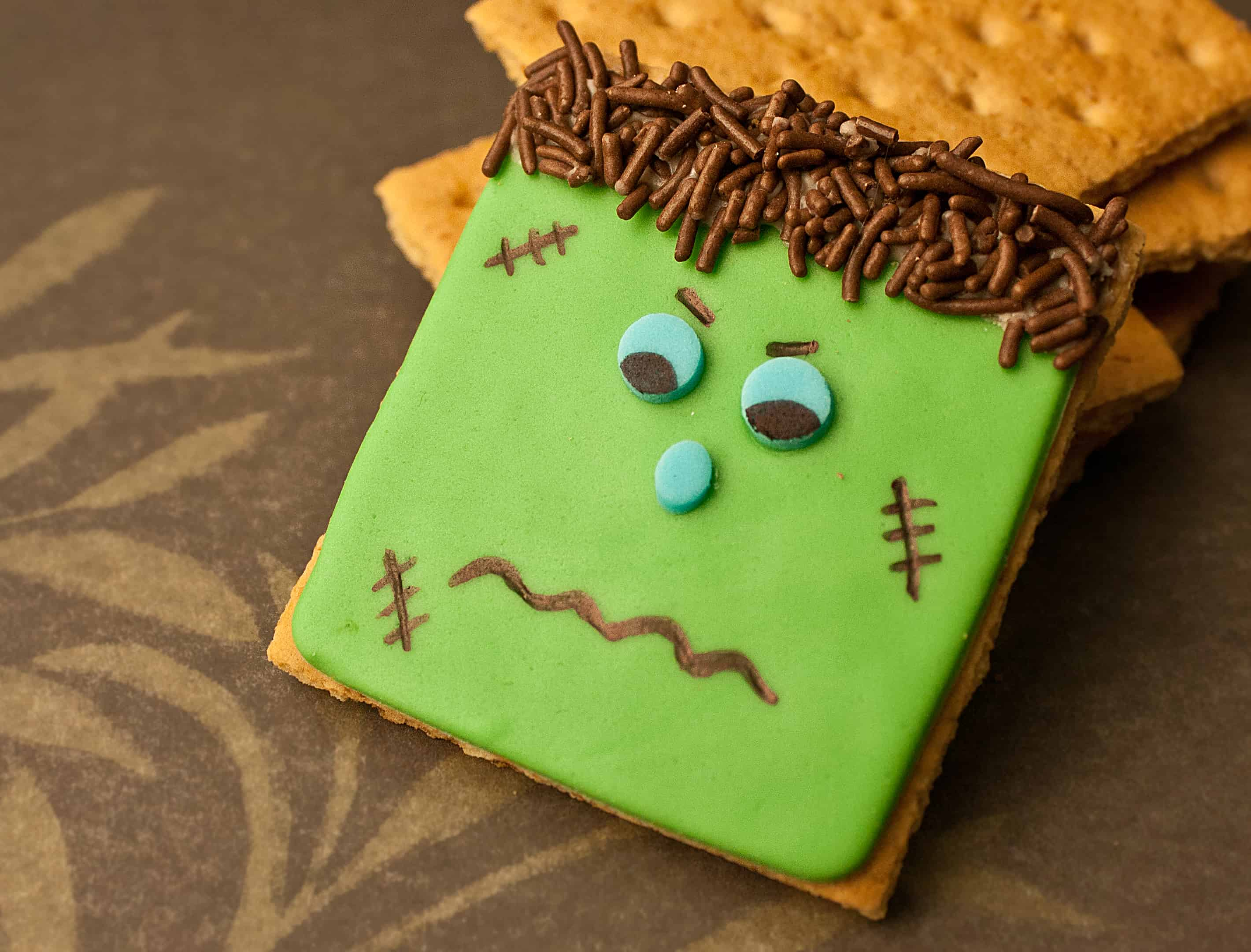Video: How to make Frankenstein cookies