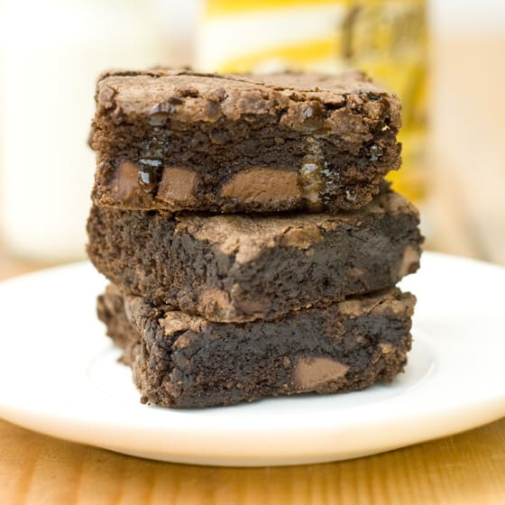 Milk Chocolate Chunk Brownies