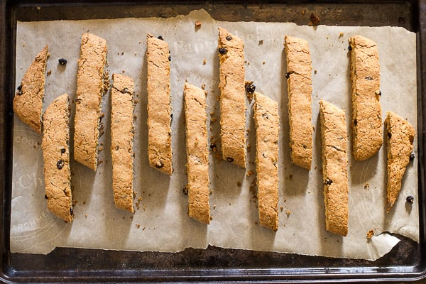 Lavender Orange Biscotti