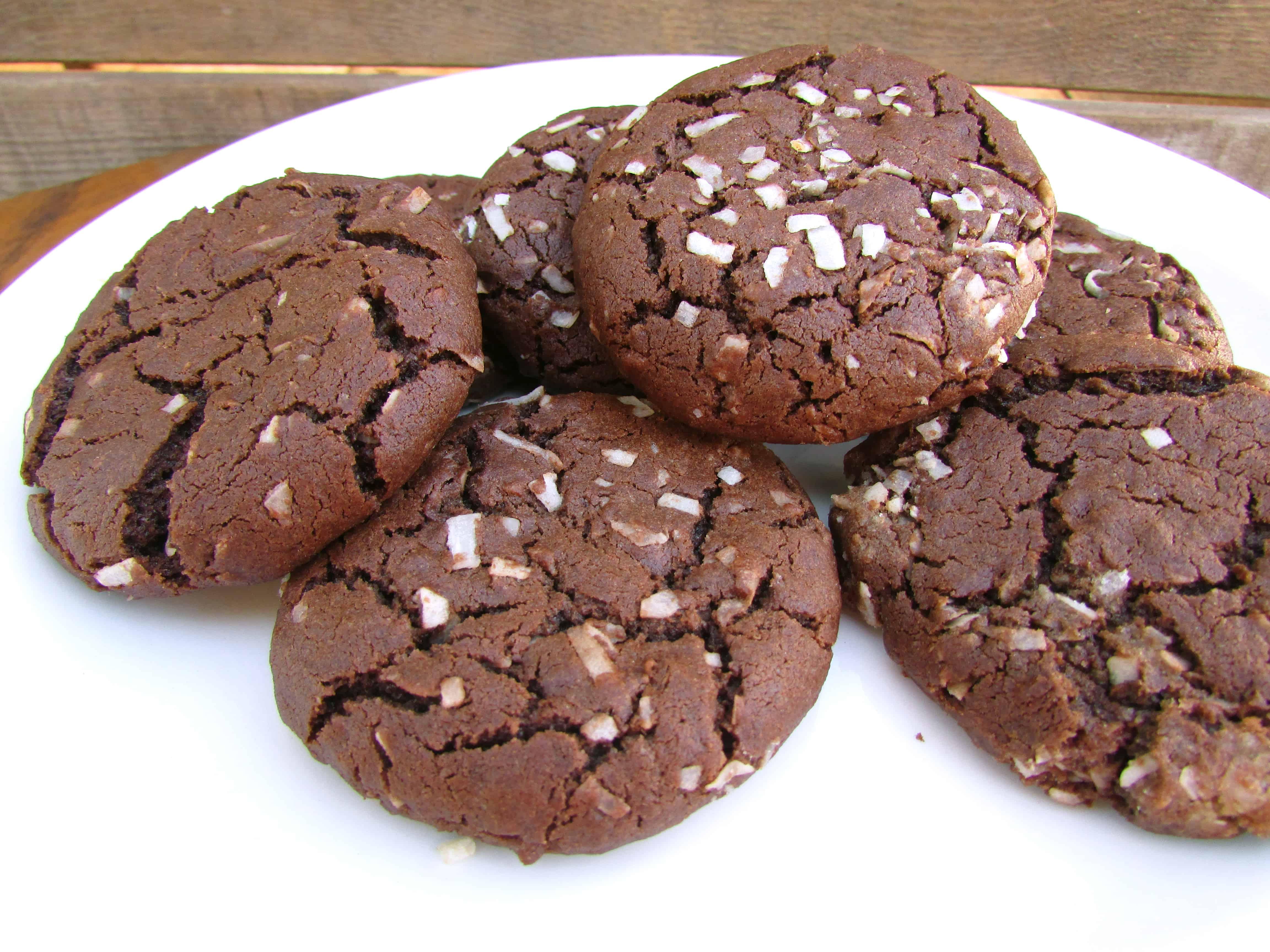 Dark Chocolate Coconut Cookie Recipe