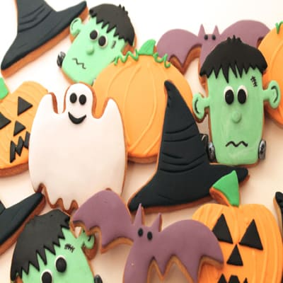 How to make spooky Halloween cookies