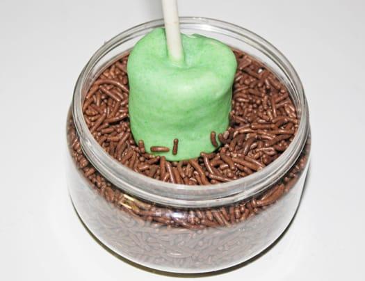 frankenstein marshmallow pops 2