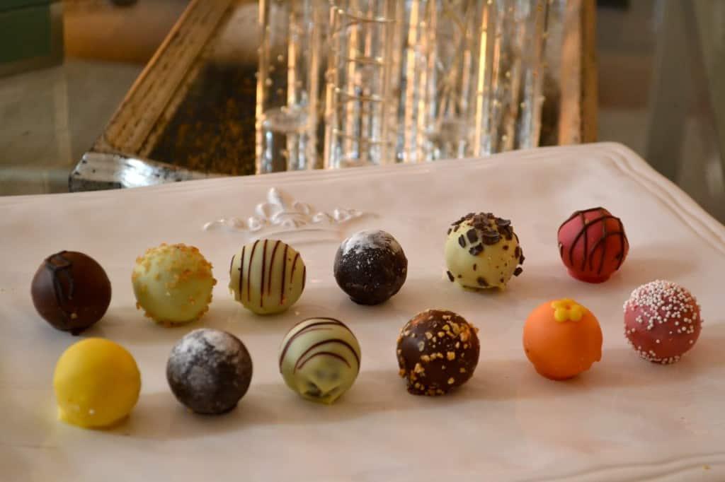 godiva chocolate truffle flights