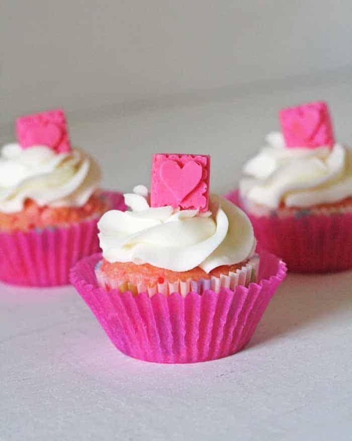 Baby Blocks Cupcakes