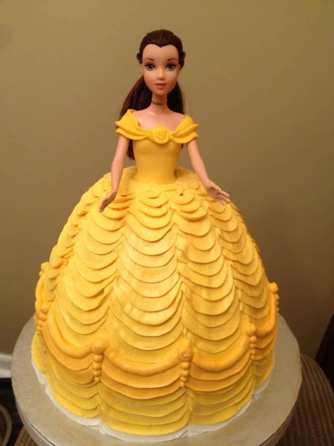 #FondantFriday – Belle Doll Cake