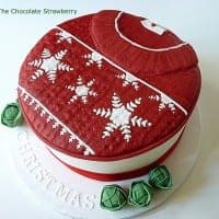 Christmas Jumper Cake