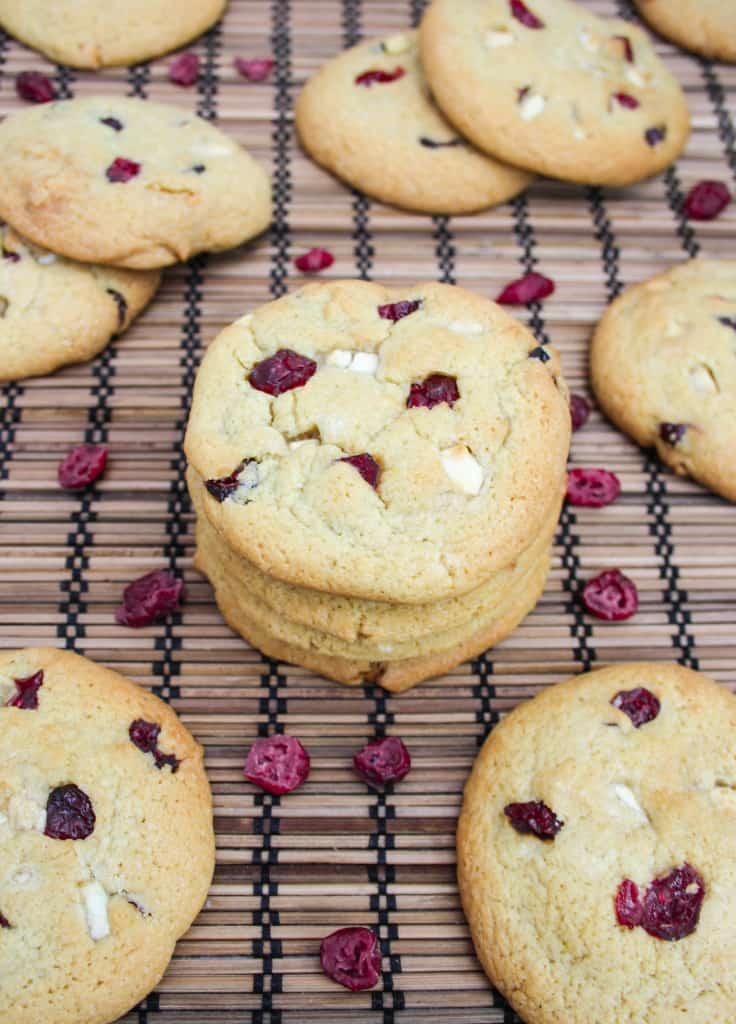Cranberry-Orange-White Chocolate Cookies