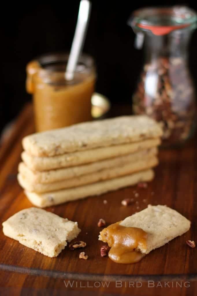 Toasted Pecan Shortbread