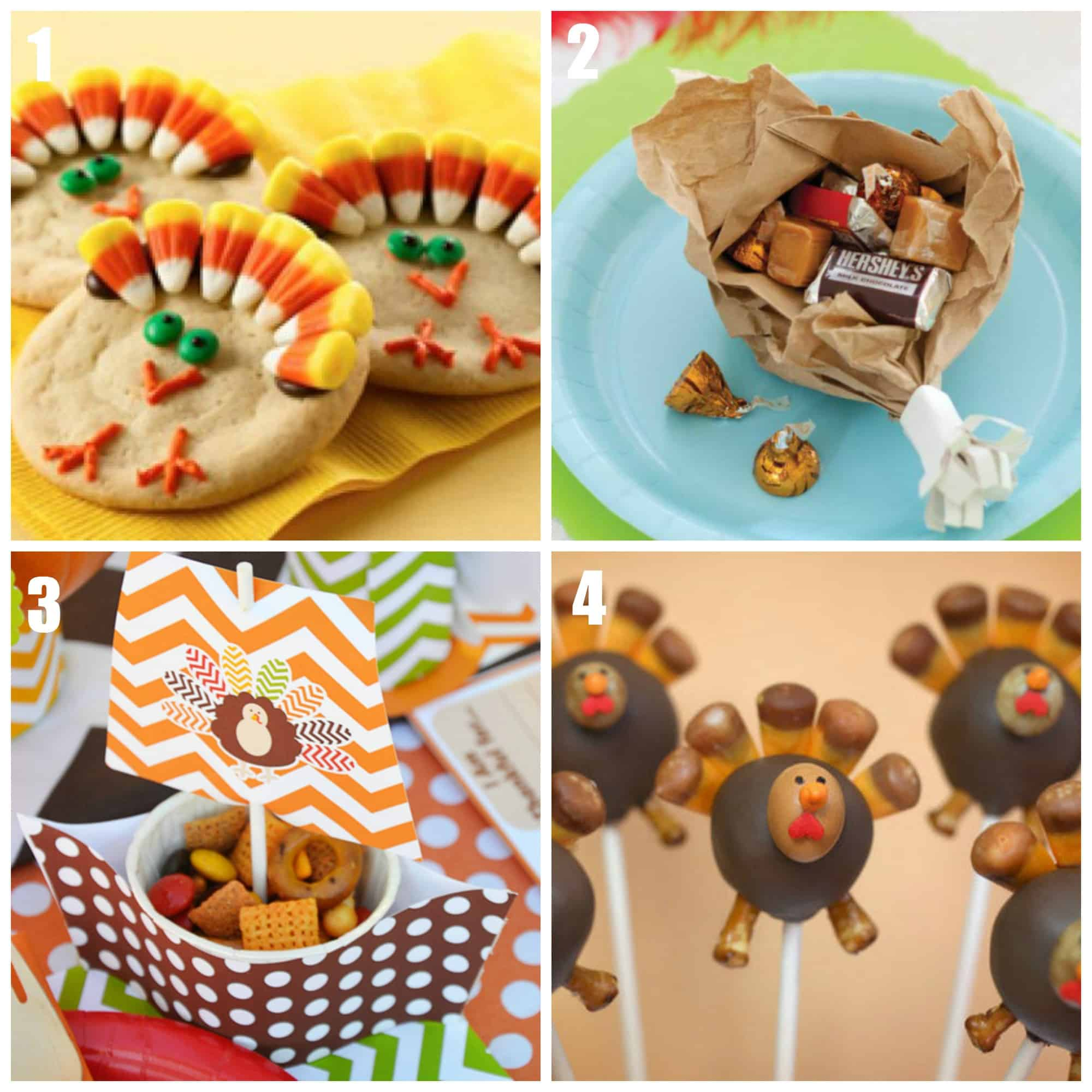 Kid Friendly Thanksgiving Desserts