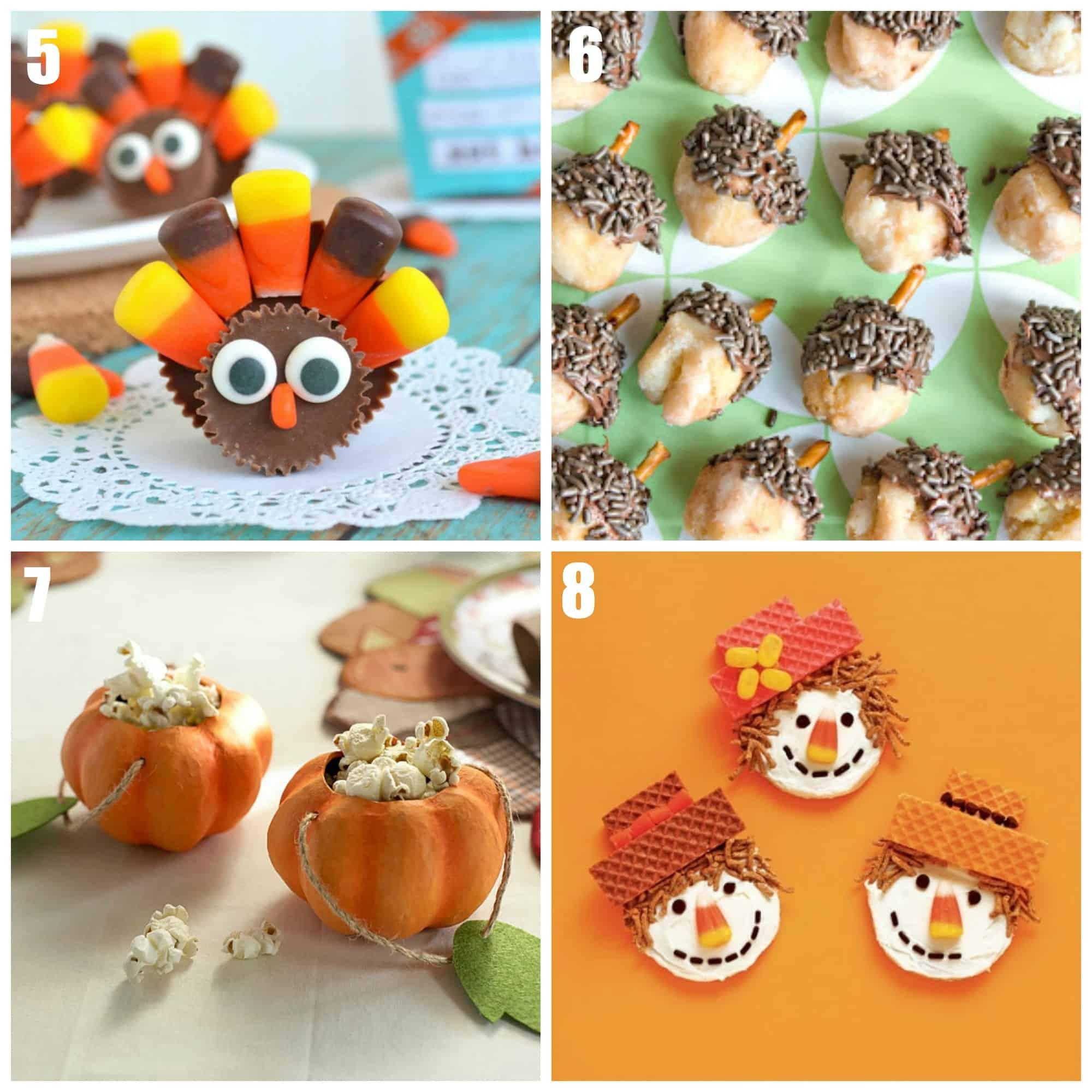 Kids Thanksgiving Desserts Images