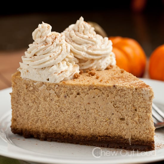 New York Pumpkin Cheesecake