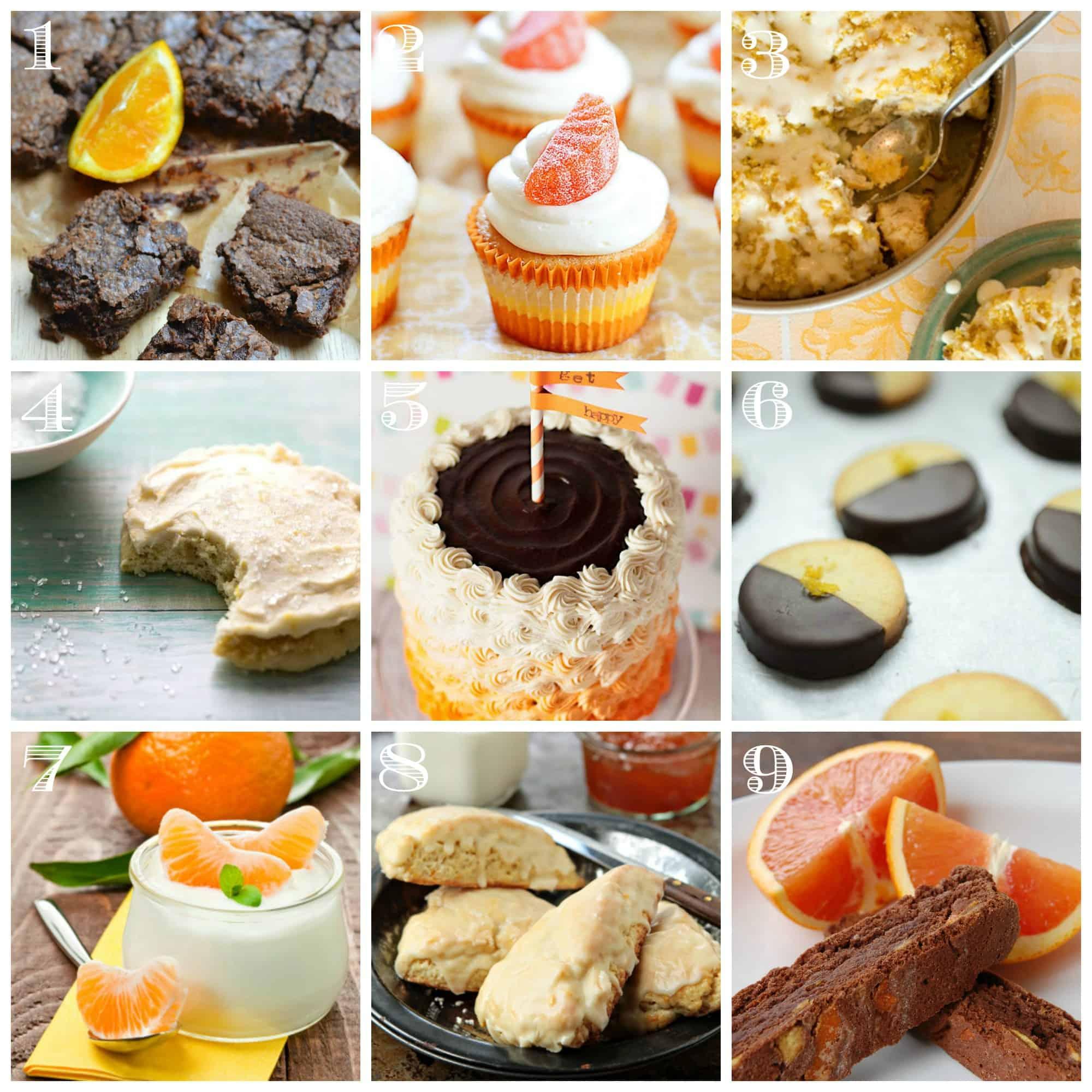 orange dessert recipes on birthday cake recipe layers