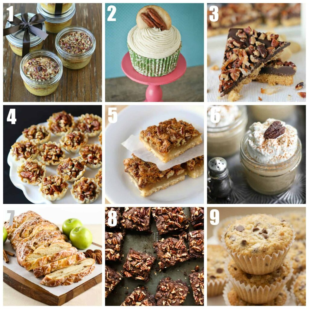 Easy pecan dessert recipes pecan recipes forumfinder Image collections