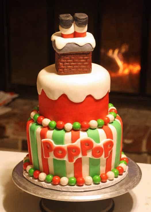 How To Make A Wavy Fondant Overlay On A Cake Cakejournal Com