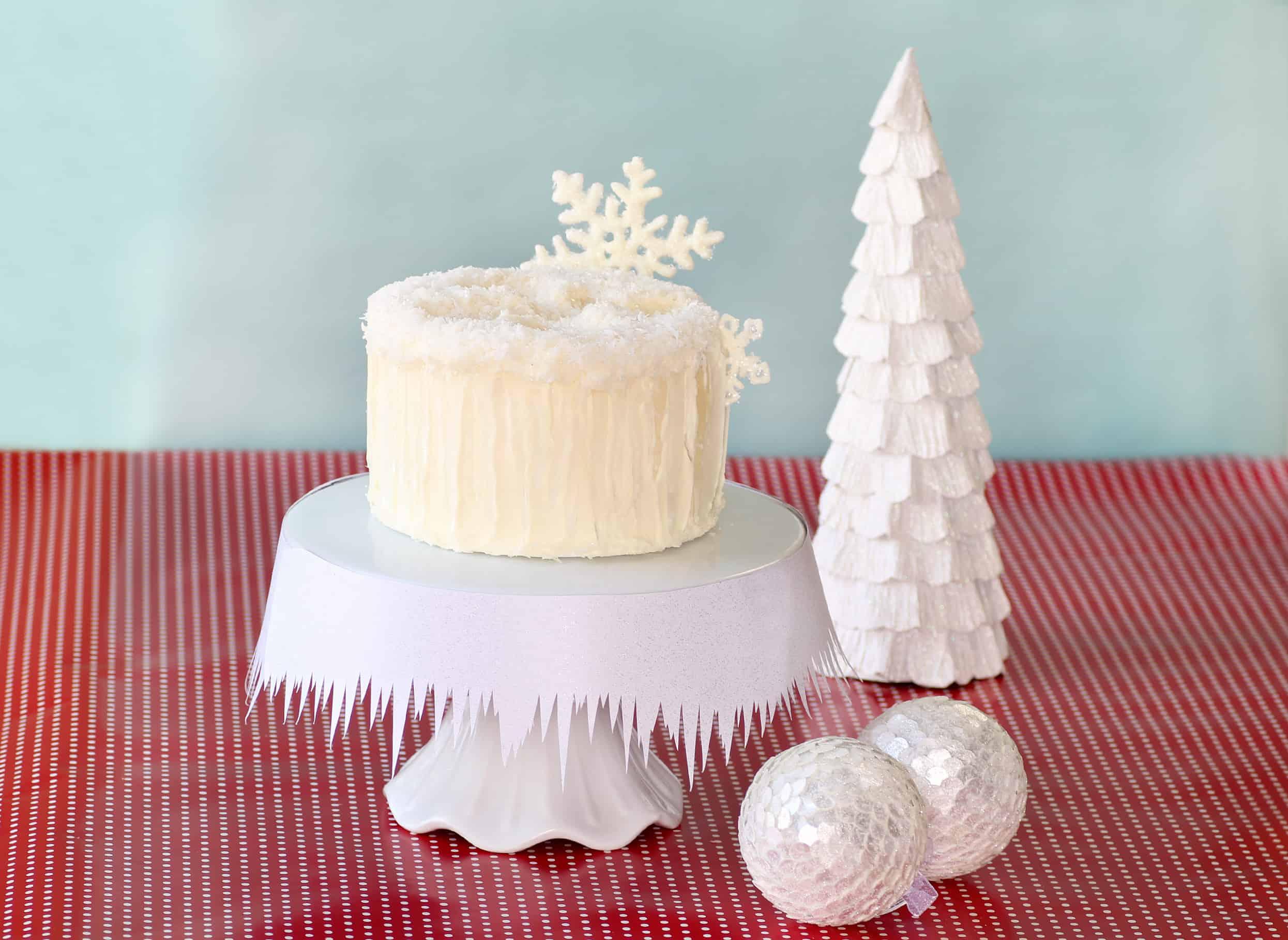 How To Make A Snow Angel Cake Cakejournal Com